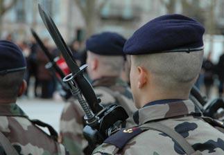 Le recrutement dans l'Armée de Terre