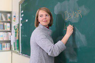 Enseignant de français langue étrangère