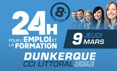 24 Heures pour l'Emploi et la Formation à Dunkerque