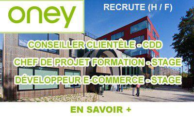 Oney recrute à Croix (59)