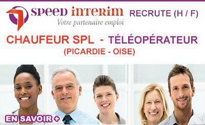 Speed Intérim recrute dans l'Oise