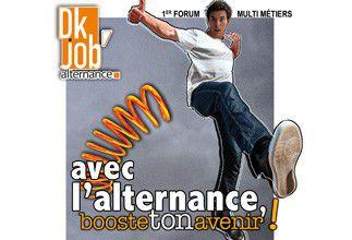 Le 1er salon DK'Job Alternance aura lieu au Kursaal mercredi 22 mars