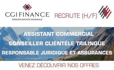 CGI Finance recrute