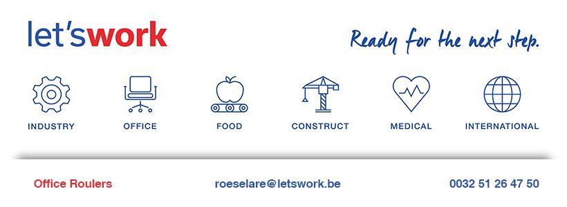 Présentation de LET'S WORK - Agence de Roulers