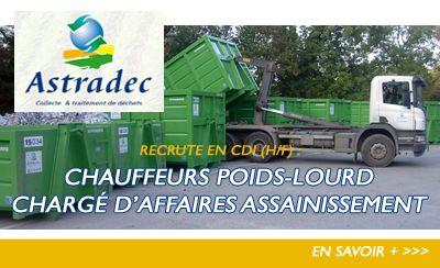 Astradec recrute dans la région (H/F)
