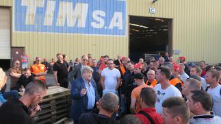471 emplois sauvés à l'usine Tim à Quaëdypre