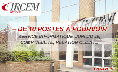 Le groupe IRCEM recrute à Roubaix