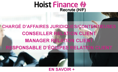 Hoist Finance des experts de la relation client