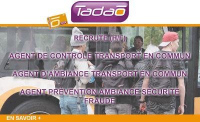 Le réseau de bus TADAO recrute !