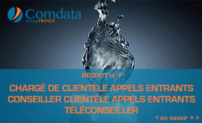ComData Group recherche des chargés de clientèle à distance (H/F)