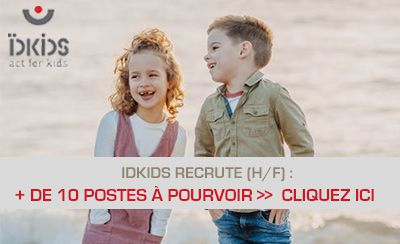 IDKids recrute pour tous ses services !