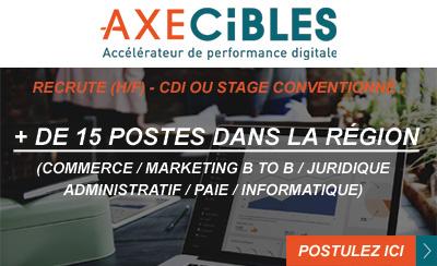 Axecibles recrute en stage et CDI !