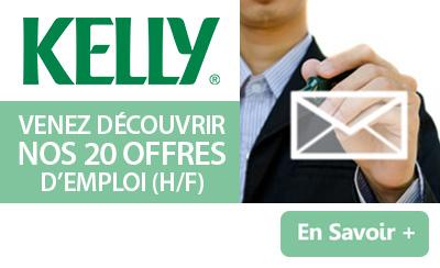 Kelly Services recrute dans de nombreux secteurs