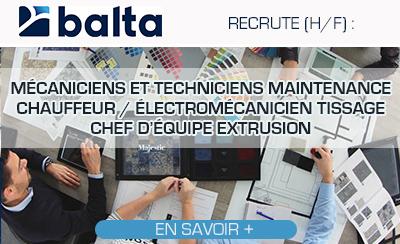 Les offres de Balta Group !
